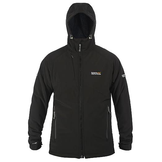 Regatta Mens Adventure Tech Frostbug Walking Jacket Large Black