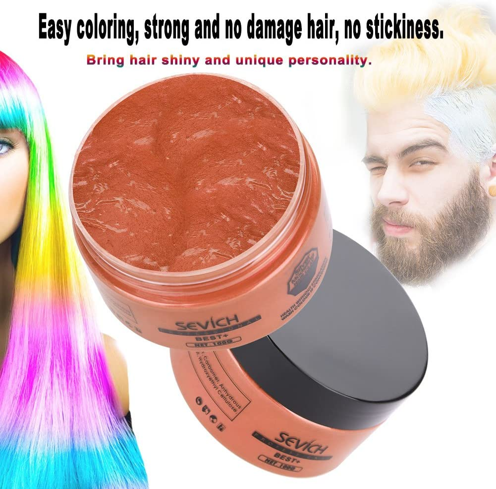 Tinte para el cabello, desechables Hair Wax Modelado en pelo ...
