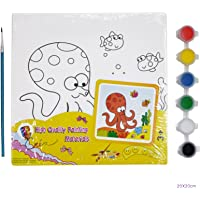 Asian Hobby Crafts Mini Canvas Painting Kit - Sneaky Owl
