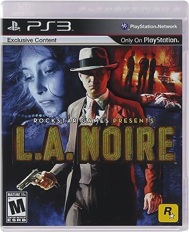 Jack of All Games L.A. Noire, PS3 - Juego (PS3): Amazon.es: Videojuegos