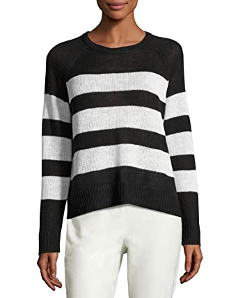 1dd246c9a1c Image Unavailable. Image not available for. Color: Eileen Fisher Organic  Linen/Cotton Stripe ...