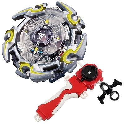 Bey Burst Evolution Turbo Battling Top Blade God Bey with Lr Launcher Grip Spryzen Starter Set B-82 Booster Alta Chronos.6M.T Attack Gyro Bay Battle Kits Gaming Tops Novelty Spinning Toy Gift for Boy: Toys & Games