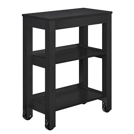 Altra Furniture Altra Parsons Wide Storage Cart, Black