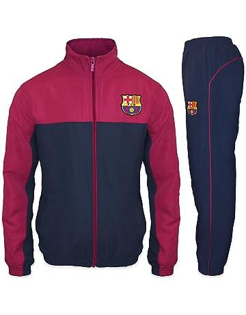 5f6d05ccdd30d FC Barcelone officiel - Lot veste et pantalon de survêtement thème football  - homme