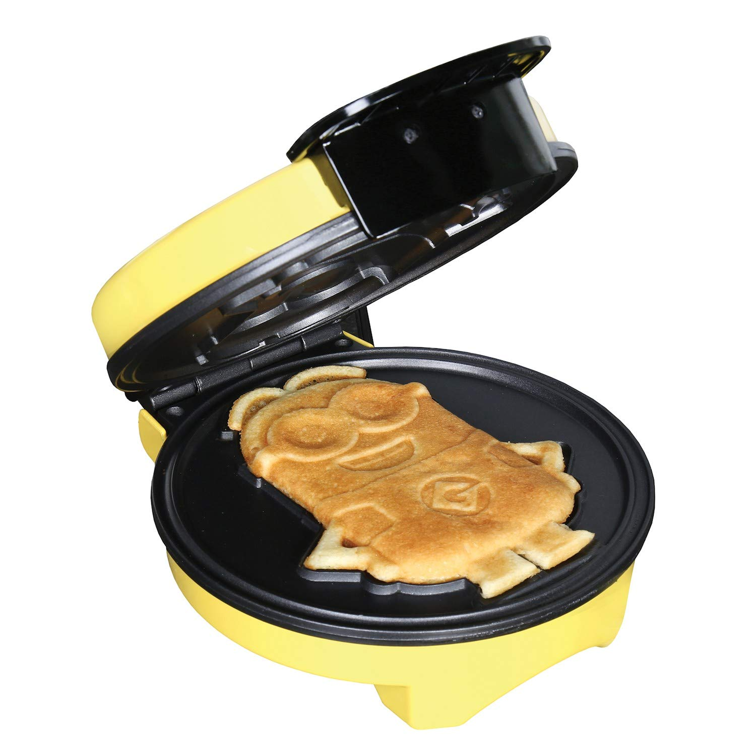 "Minions Waffle Maker - Electric Waffle Iron Kitchen Appliance -""Dave"" Yellow"