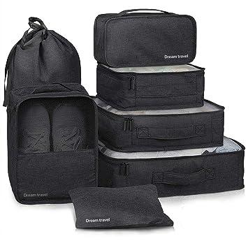 Amazon.com: Yeahmart - Juego de 7 bolsas de almacenamiento ...