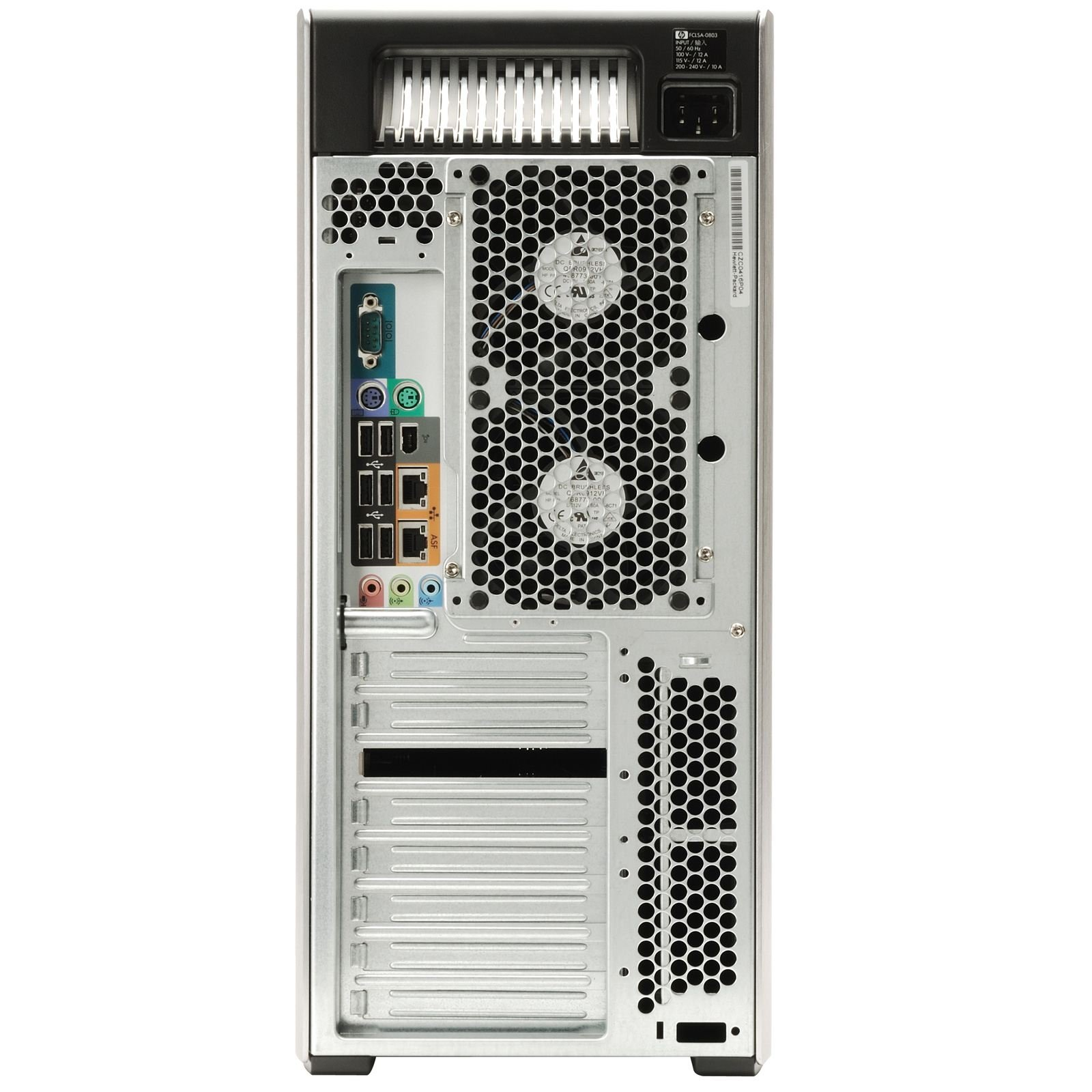 Beast Computer 8 CORE with 16 Hyperthreads - HP Z600 Workstation - 2 X Intel QUAD CORE Xeon up to 3.33GHzNEW 250GB SSD + 4TB HDD - 24GB RAM - 4 Monitor Capable - USB 3.0 (Certified Refurbished)