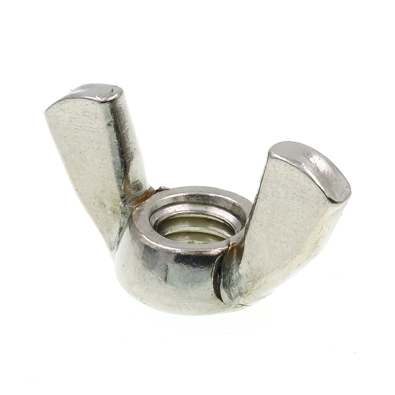 #10-32 Cold-Forged 25-Pack Grade 18-8 Stainless Steel Prime-Line 9076339 Wing Nuts