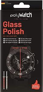 polyWatch glass polishing cream repair watches, smartphone, car, furniture, household, window