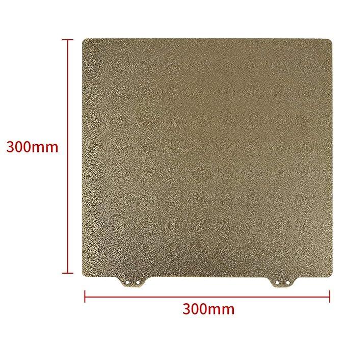 B Baosity Cama Termal de Acero de Muelles para Impresora 3D 300mm ...