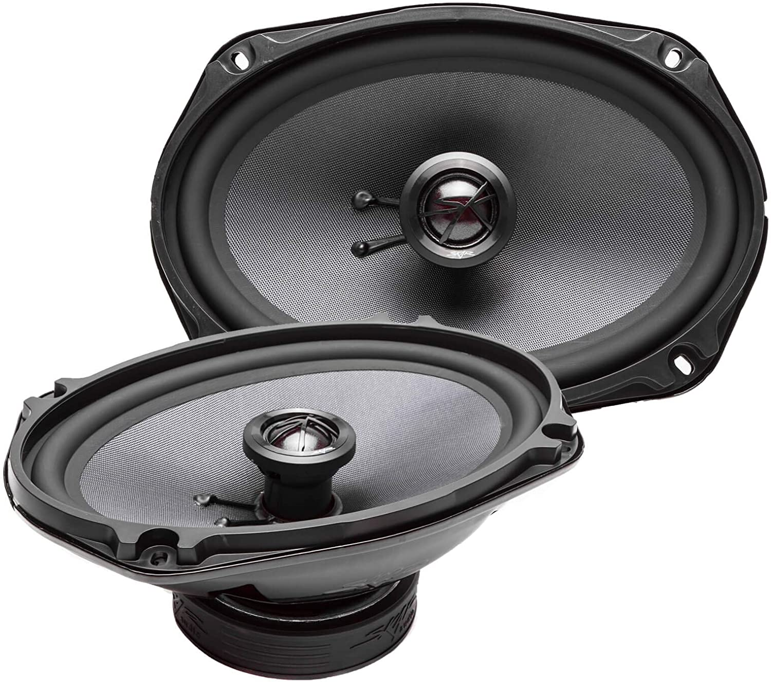 Pair 2-Way 6/'/' x 9 /'/' Car Speakers 4 Ohms 1000 Watts Coaxial Audio Auto Bass NEW