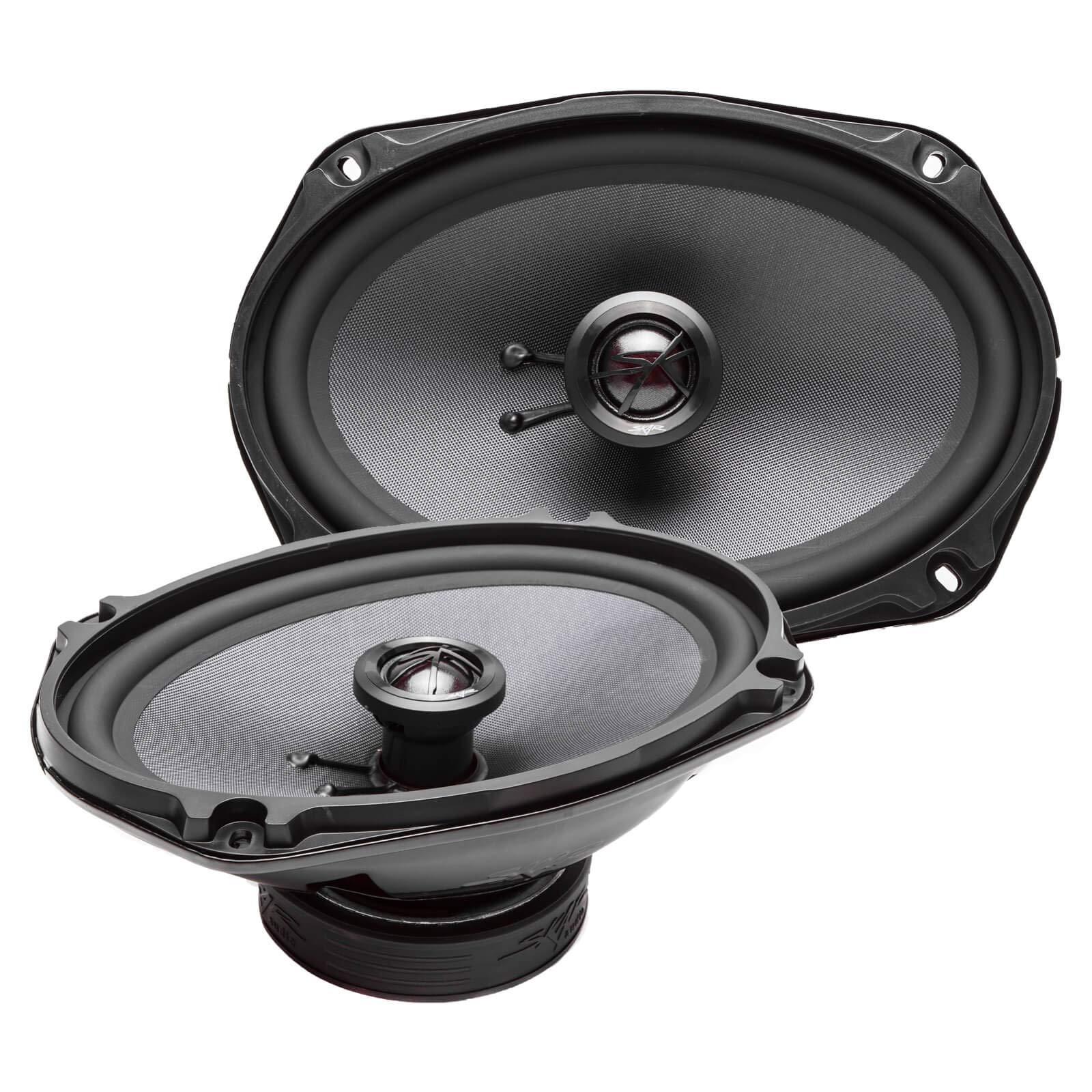Skar Audio TX69 6'' x 9'' 240W 2-Way Elite Coaxial Car Speakers, Pair