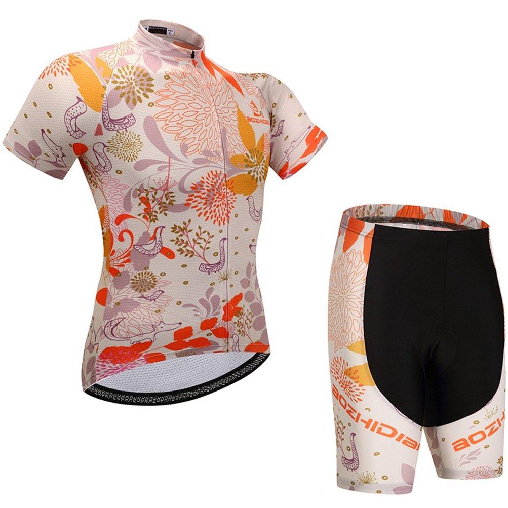 Uriah Women's Cycling Jersey Shorts Sets Short Sleeve
