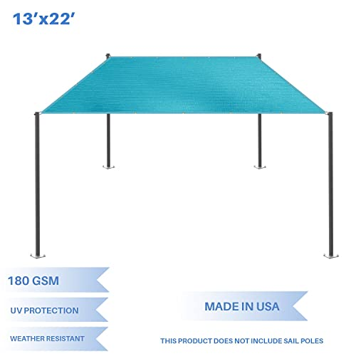E K Sunrise 13 x 22 Sun Shade Sail