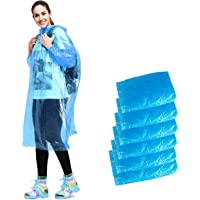 Aival Impermeables Desechables, Poncho Impermeable para Emergencia, Poncho