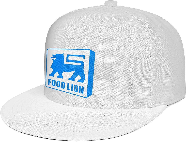 TEedhkf3 Mens Guys Design Snapbacks Cap Food-Lion-Logo Strapback Hats