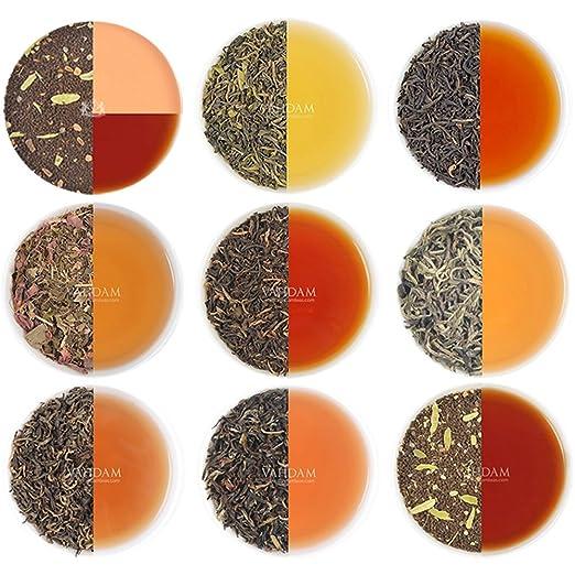 19 opinioni per Tè in foglie assortiti, 10 tè- Una collezione di finissimo tè nero, tè verde, tè
