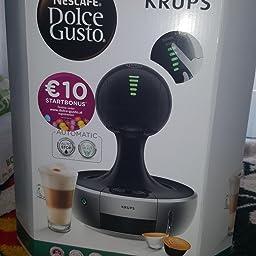 Krups Dolce Gusto Drop KP3505 - Cafetera de cápsulas, 15 bares de ...