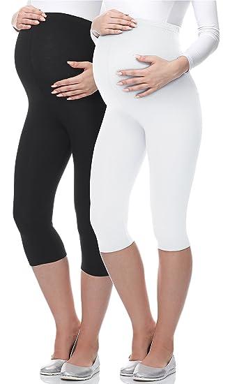 Be Mammy Lot de 2 Leggings 3 4 Grossesse Maternité Tenue Sport 03   Amazon.fr  Vêtements et accessoires 9e7b997120c