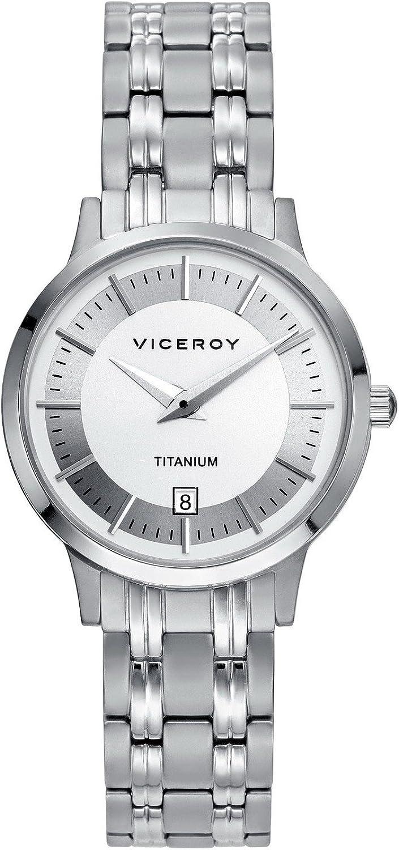 Reloj Viceroy Luxury 471048-17 de mujer en titanio.