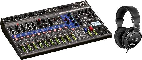 Zoom LiveTrak L-12 - Mesa de mezclas digital (grabadora de varios ...