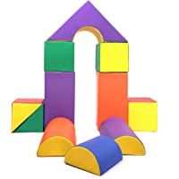 Baby Toddler Large Soft Foam Building Block Indoor Foam Block Castle Playset 11pcs - Size L