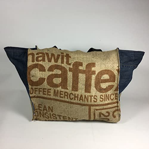 acheter pas cher b48a0 0e6fc Cabas ,grand sac à main réversible, cabas en toile de jute ...
