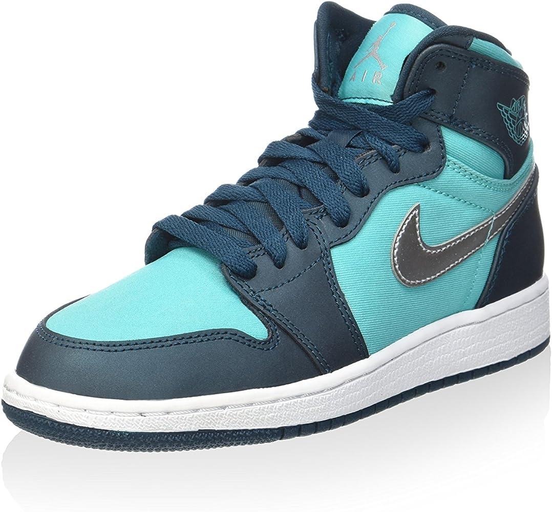 Nike - Zapatillas de Baloncesto 332148-318 - Air Jordan 1 Retro ...