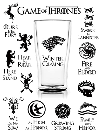 31b6b770db466 S-002 25pcs Game of Thrones Stickers Winter is Coming Fire and Blood  MacBook Decal Vinyl Sticker Mac Air Pro Retina Laptop Stickers for Water  Bottles