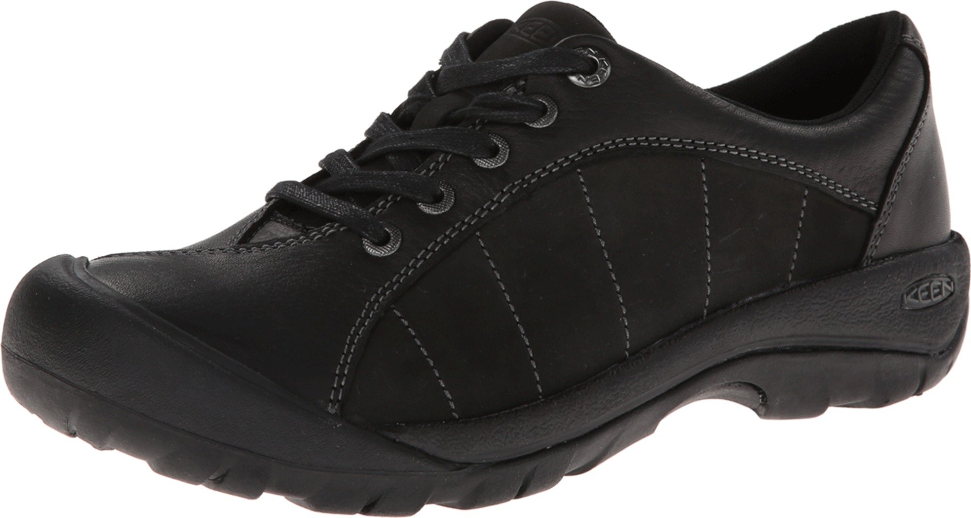 KEEN Women's Presidio Oxford,Black/Magnet,8 M US