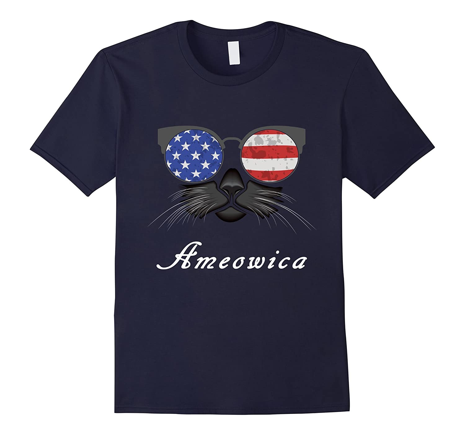 AMEOWICA tshirt - MEOWICA shirt for Who loves FUNNY cats-TH