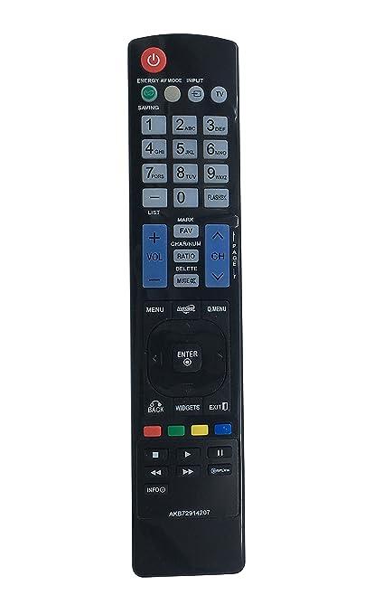 LG AKB72914207 TV Remote for LCD//LED TVs  for  55LD650 42LD550