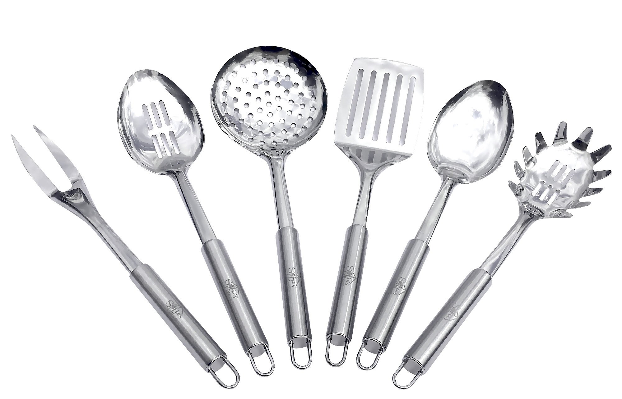 kitchen royalty set utensils vector image free of