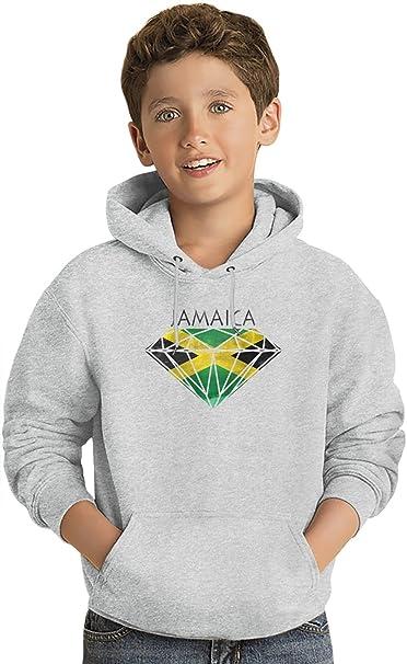 Jamaica Dope Diamond Los niños Hoodie ligero Lightweight Hoodie For Kids | 80% Cotton-20%Polyester| 14-15 yrs: Amazon.es: Ropa y accesorios