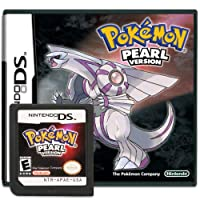 Pokemon Pearl Version Game Cartridge Card Sealed in Box Compatible with Nintendo DS/NDS/NDSL/NDSi/3DS/2DS Version (Reproduction Version)