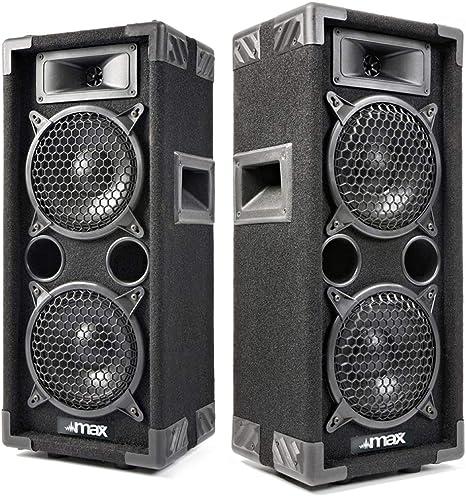 Max 170.664 Dual 6 Inch Passive Party Speaker 600W