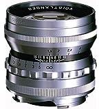VoightLander 単焦点レンズ NOKTON 50mm F1.5 Aspherical VM シルバー NOKTON 50/1.5 VMSL
