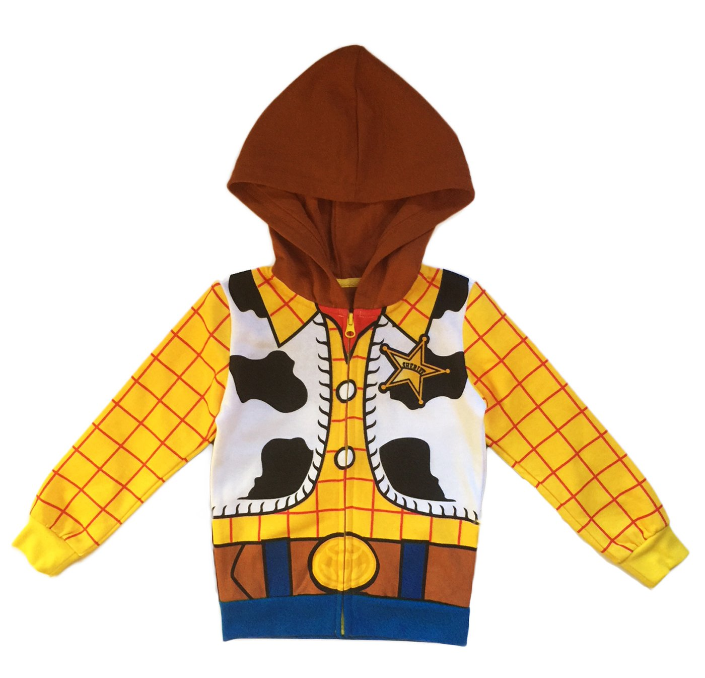 Mighty Fine Disney Toy Story Toddler & Little Boys Woody Character Hoodie (4/4T) by Mighty Fine (Image #1)