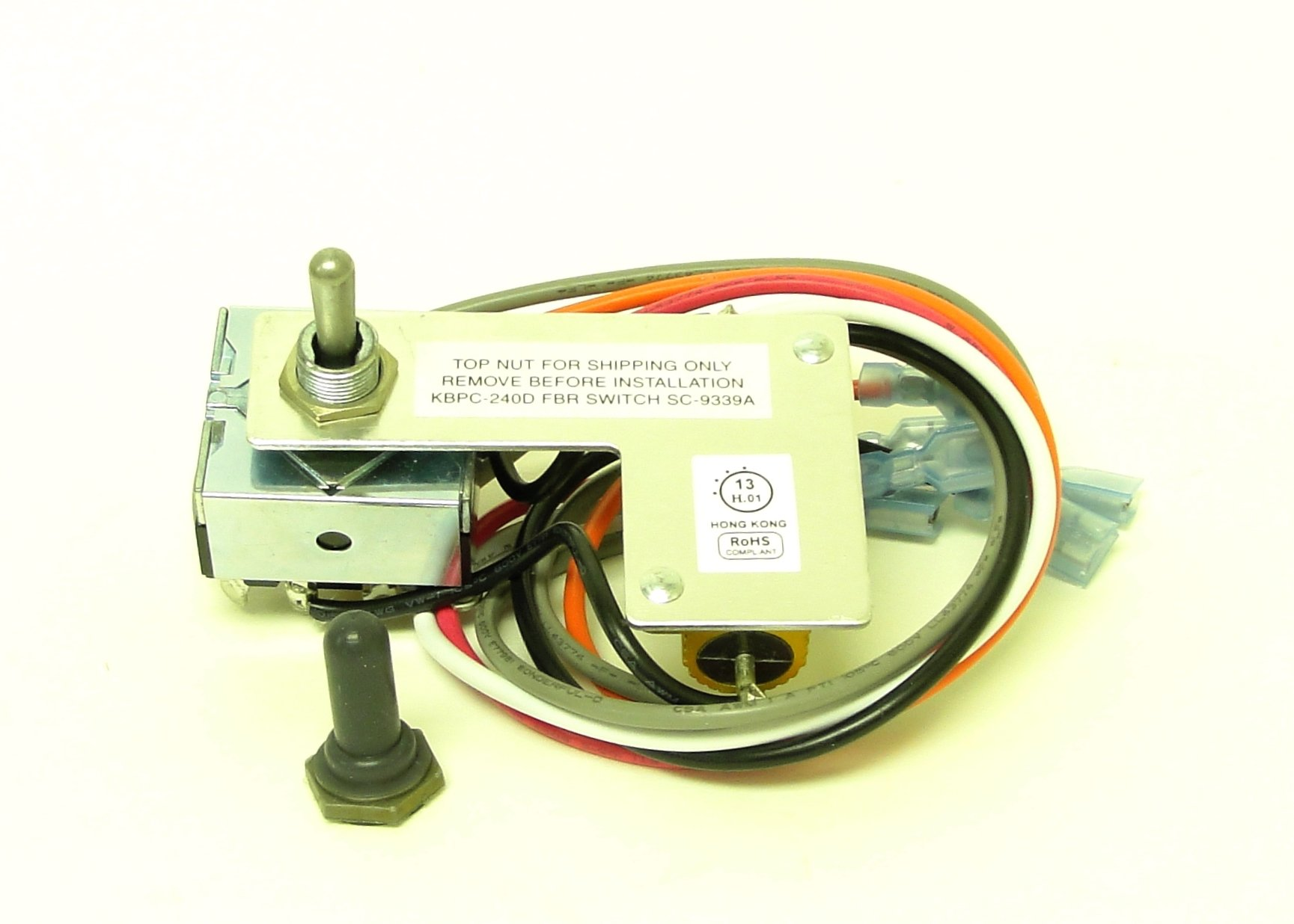KB Electronics Forward-Brake-Reverse Switch 9339 for KBPC-240D upc 02482200052 by KB Electronics