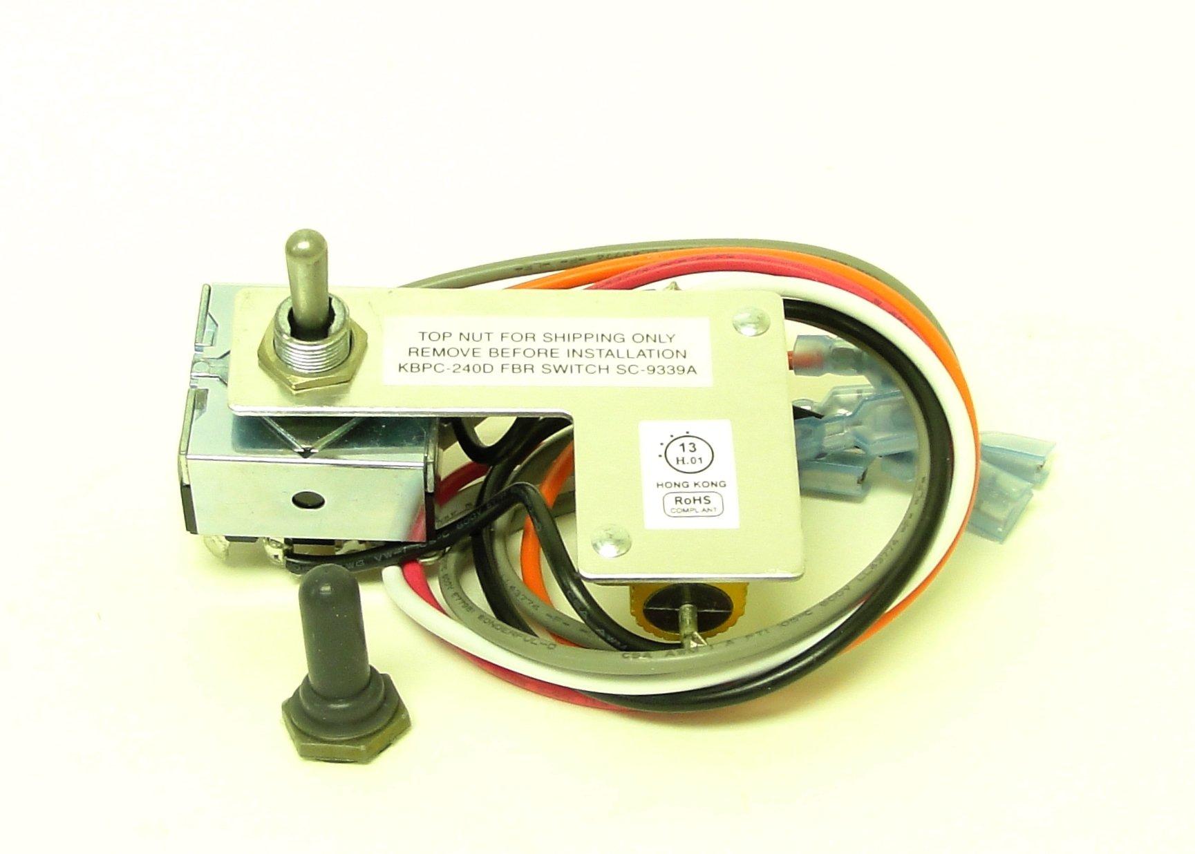 KB Electronics Forward-Brake-Reverse Switch 9339 for KBPC-240D upc 02482200052