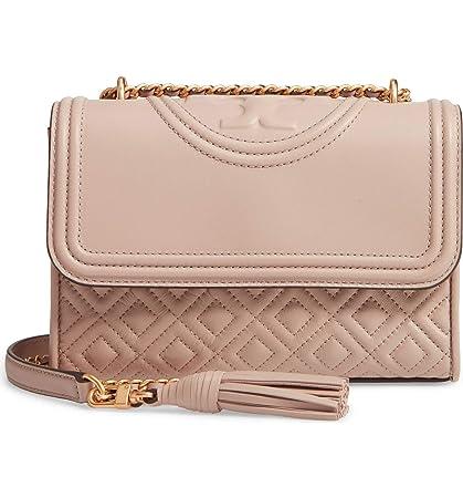 f2b4c078556c Amazon.com  Tory Burch Women s Light Taupe Fleming Small Convertible  Shoulder Bag  Kotore