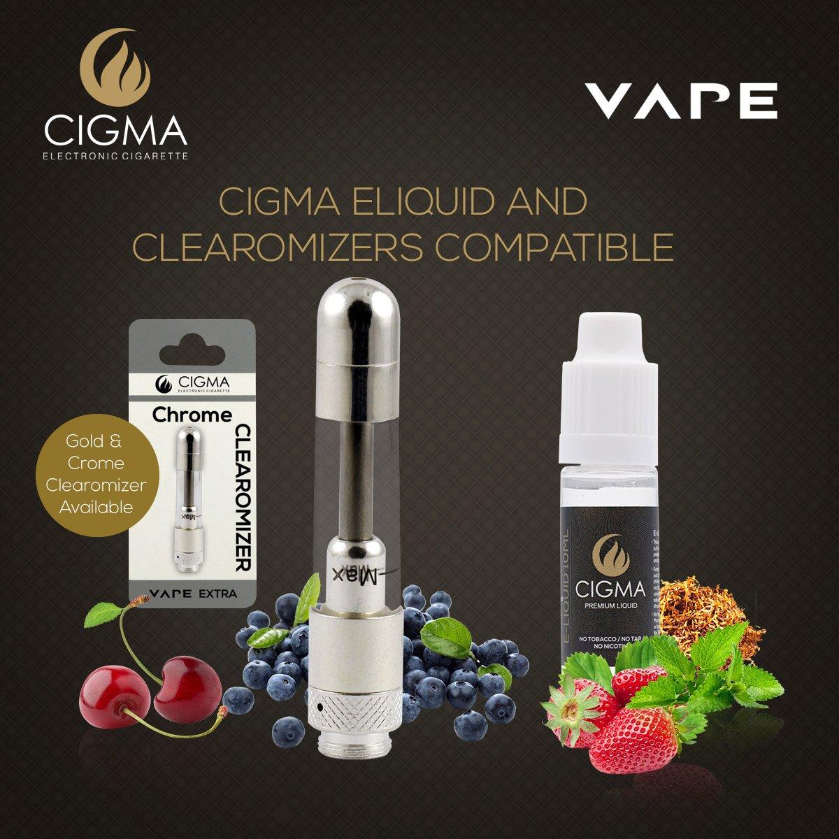 Cigma Vape Bobina para batería adicional | Paquete de 5 de bobinas | Rellenable Clearomizer | Cromo: Amazon.es: Salud y cuidado personal