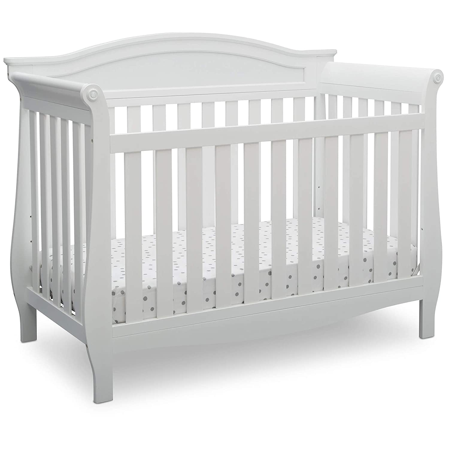 Delta Children Lancaster 4-in-1 Convertible Baby Crib, Grey Delta Enterprise Corp - PLA 552150-026