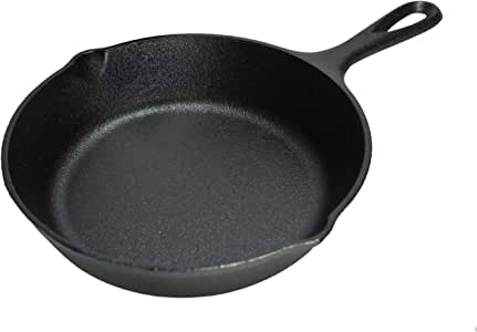 Lodge Cast Iron Skillet, 6.5-inch, Black
