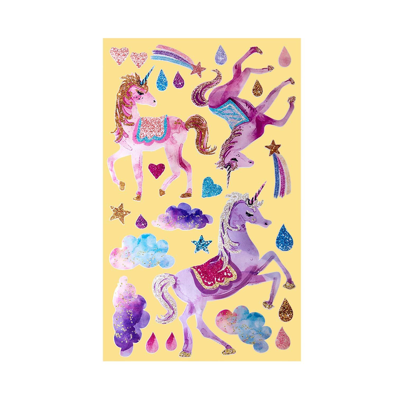 Vinilo Decorativo Pared [7QTG5FWH] unicornio