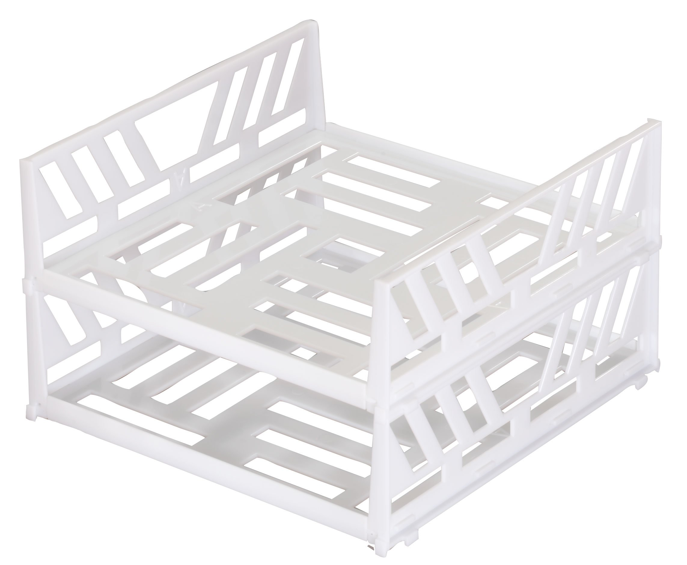 Stackable Freezer Shelves Set of 2 By Jumbl