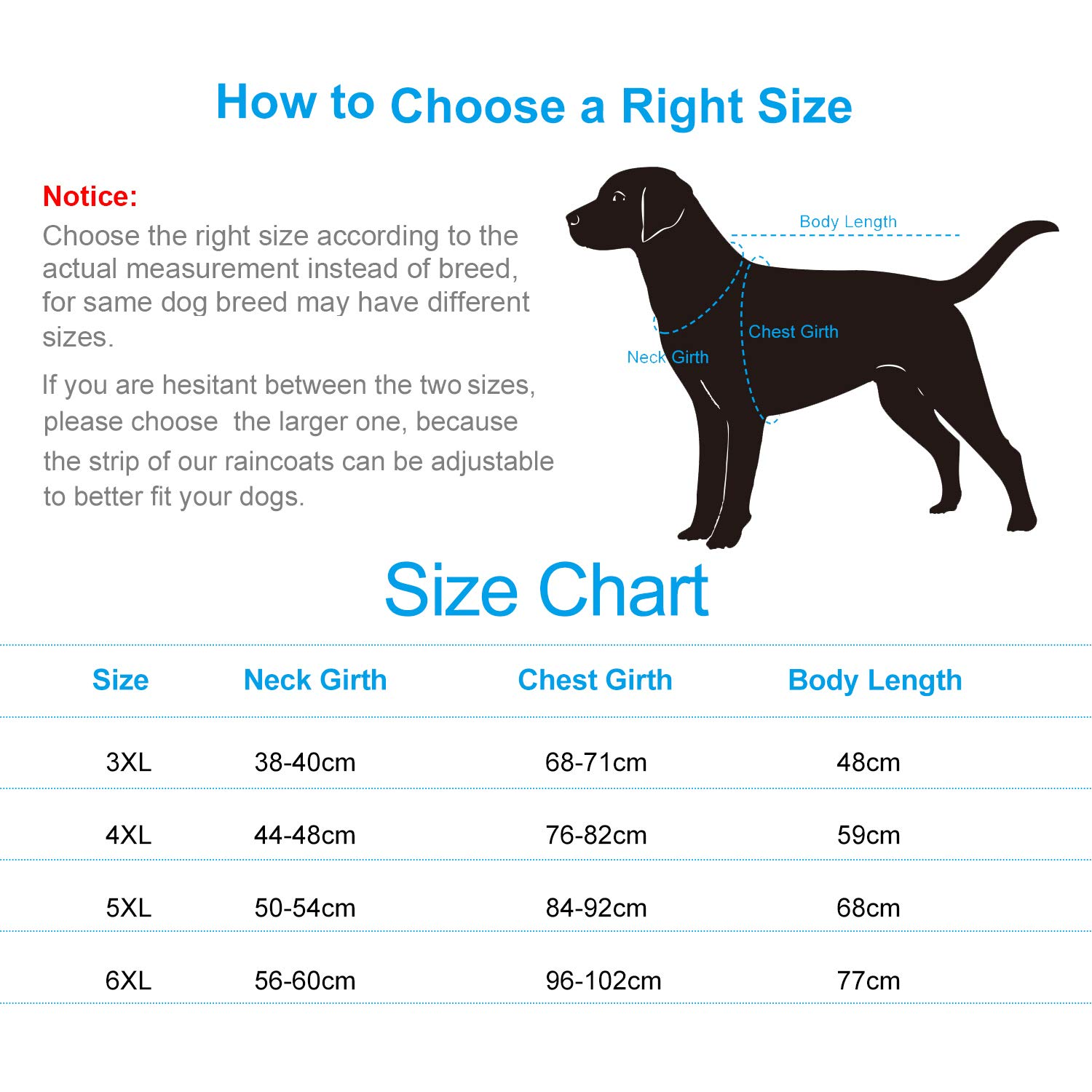 Dog Raincoat with Hood /& Safe Reflective Strips,Ultra-Light Breathable 100/% Waterproof Rain Jacket for Small Dog