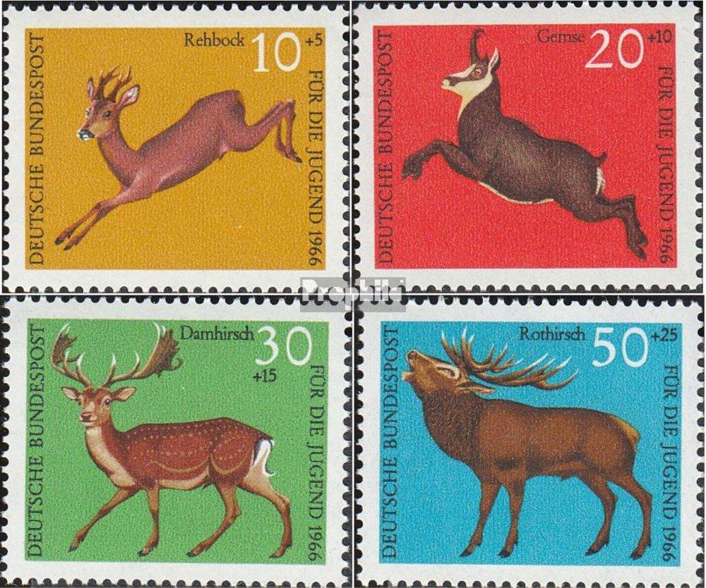FR.Allemagne 511-514 Timbres pour les collectionneurs compl/ète.Edition. 1966 Jeunesse RFA D/´autres mammif/ères