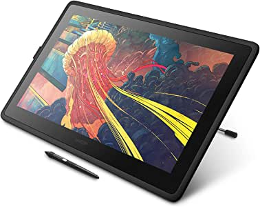 Wacom Cintiq 22 Drawing Tablet with HD Screen, Graphic Monitor, 8192 Pressure-Levels (DTK2260K0A) 2019 Version,Medium