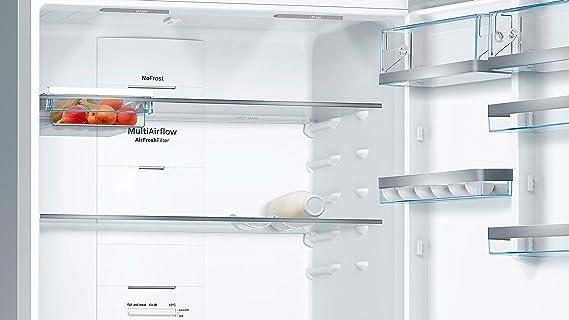 Bosch Serie 6 KGN86AI4P nevera y congelador Independiente Acero ...